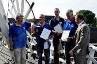Hoogeveense molenaars krijgen certificaat
